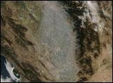 Haze over Southern California