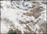 Severe Snow in Iran