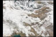 Severe Snow in Iran