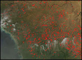 Agricultural Fires in West Africa