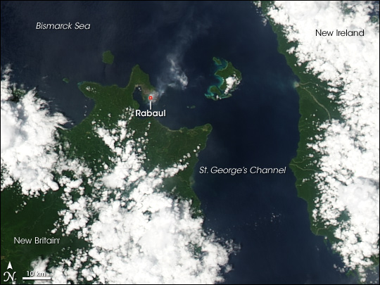 Rabaul Volcano, New Britain