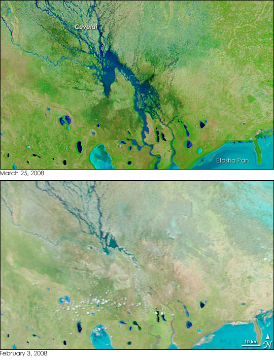 Floods in Namibia