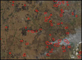 Fires in the Southern Plains