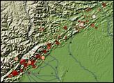 Earthquake Near Chengdu, China