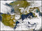 Winter Storm Sweeps Across Europe