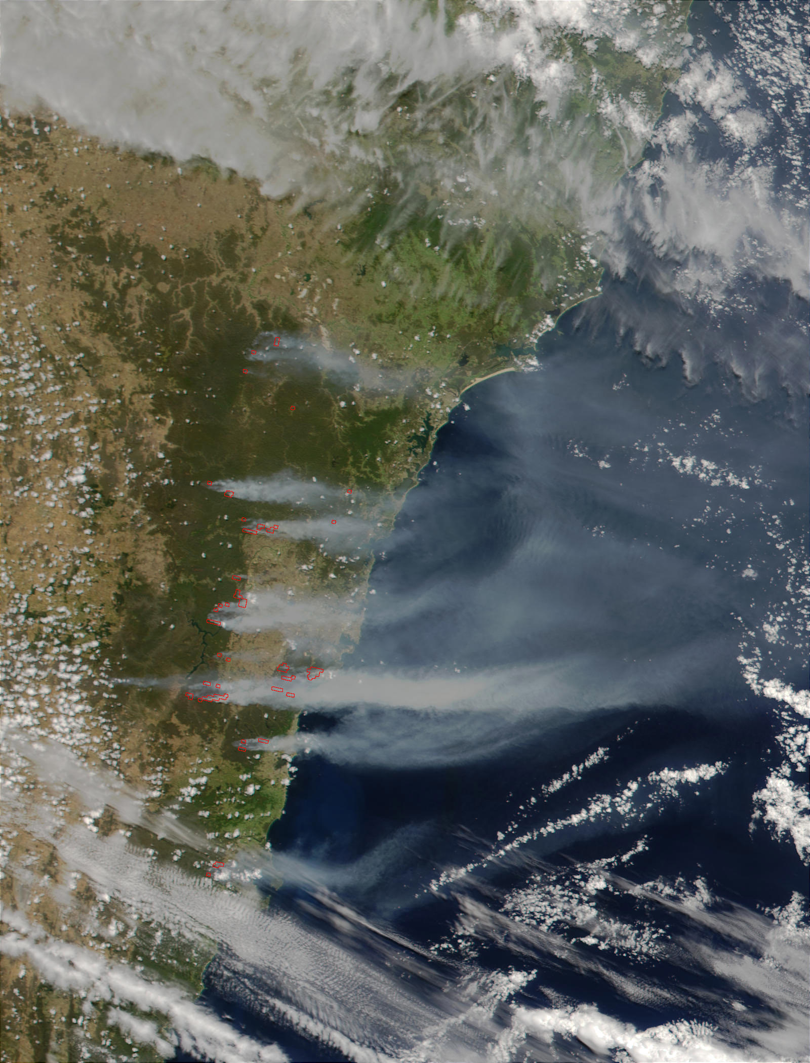 Severe Bush Fires Near Sydney, Australia - related image preview