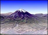 El Misti Volcano and the City of Arequipa, Peru