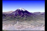 El Misti Volcano and the City of Arequipa, Peru