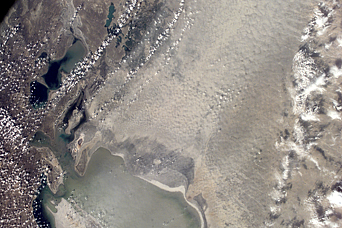 Dust Storm, Aral Sea - related image preview