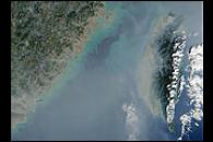 Smog Obscures Chinese Coast