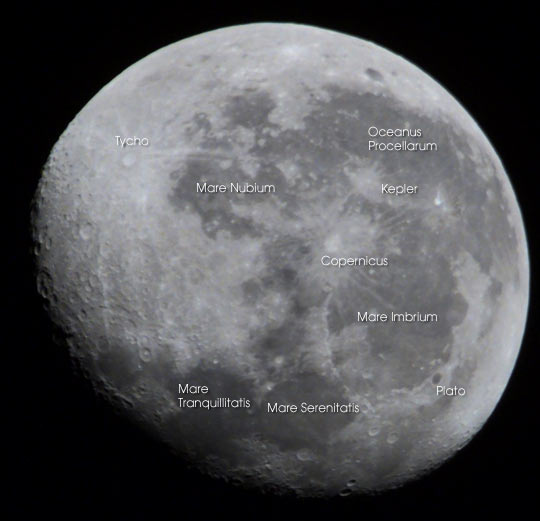 ISS Astronauts View the Moon - related image preview