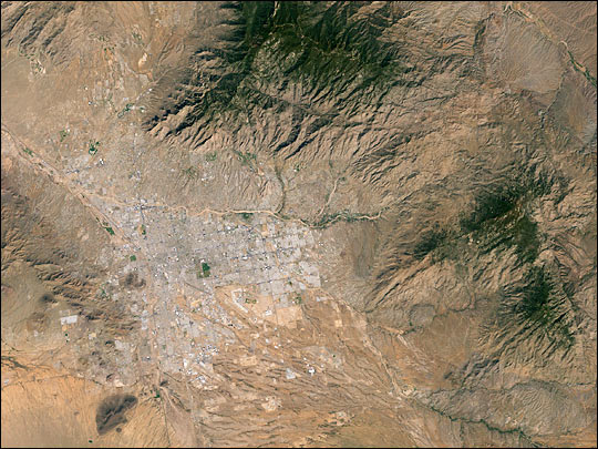 Tucson, Arizona, and its Surroundings
