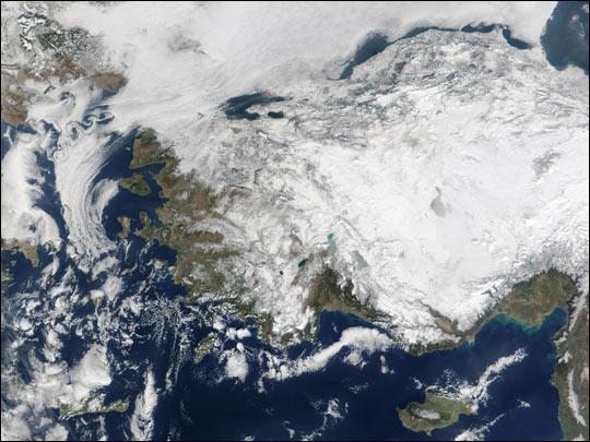 Harsh Winter in Turkey