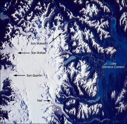 Northern Patagonian Ice Field, Chile - related image preview