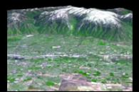 Salt Lake City, Utah, Perspective View