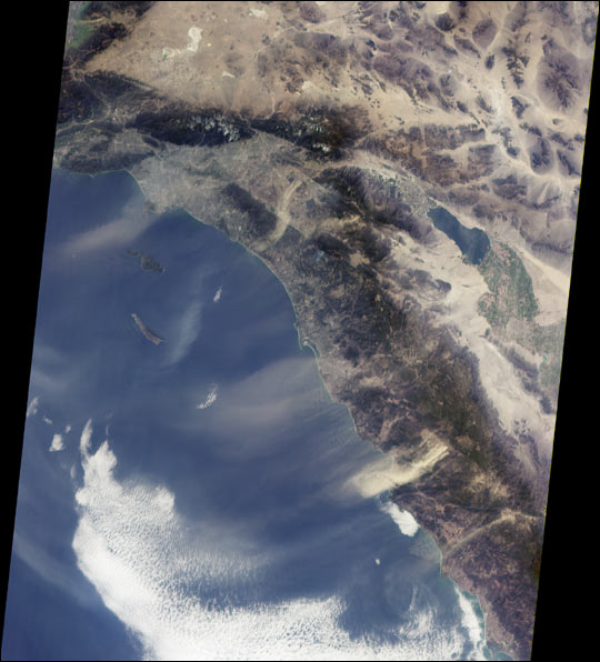 Dusty Skies over Southern California
