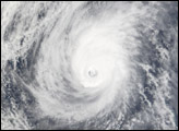 Typhoon Mitag Northeast of the Philippines