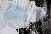 Breakup of the Larsen Ice Shelf, Antarctica