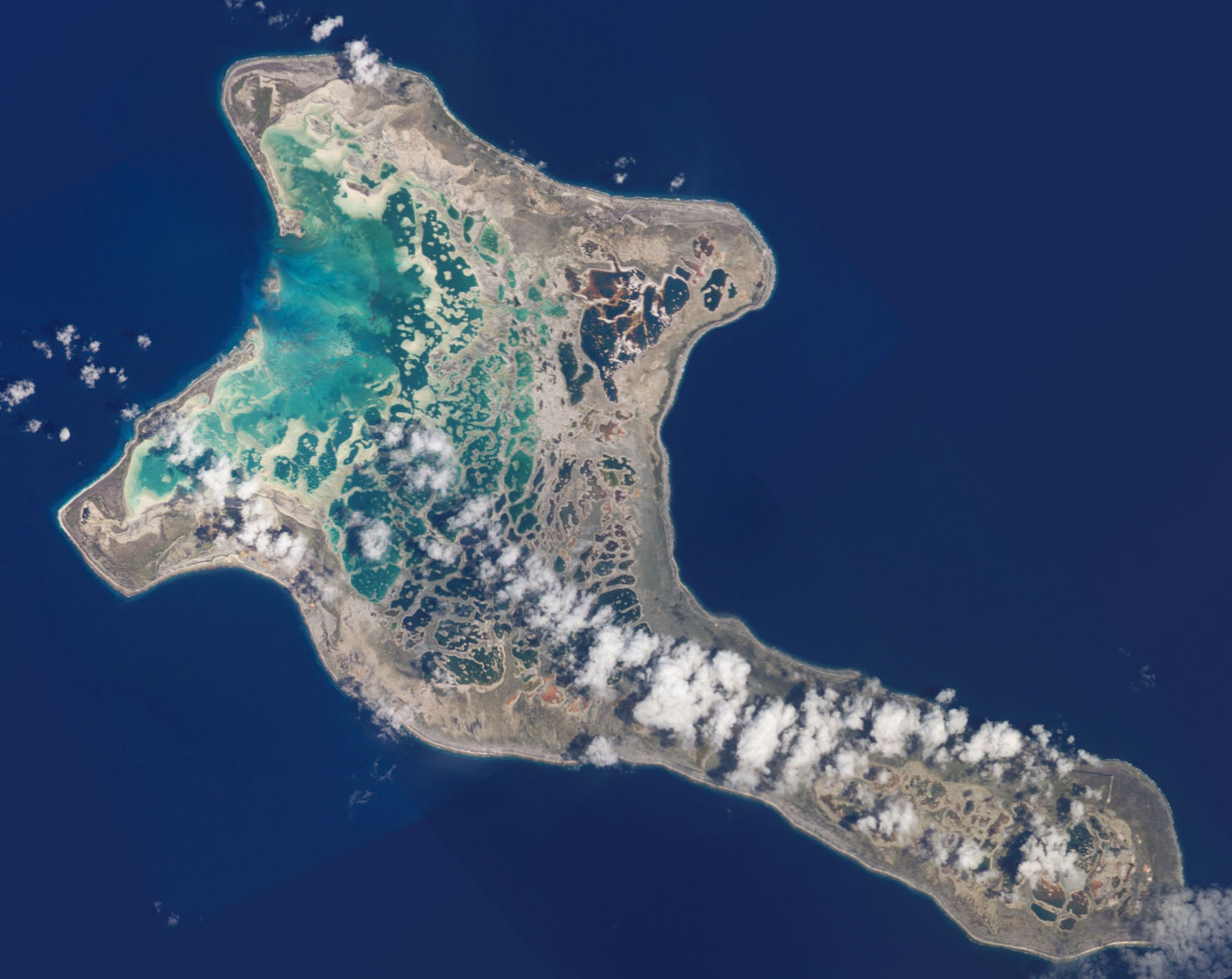 Christmas Island.Kiritimati Kiribati Christmas Island