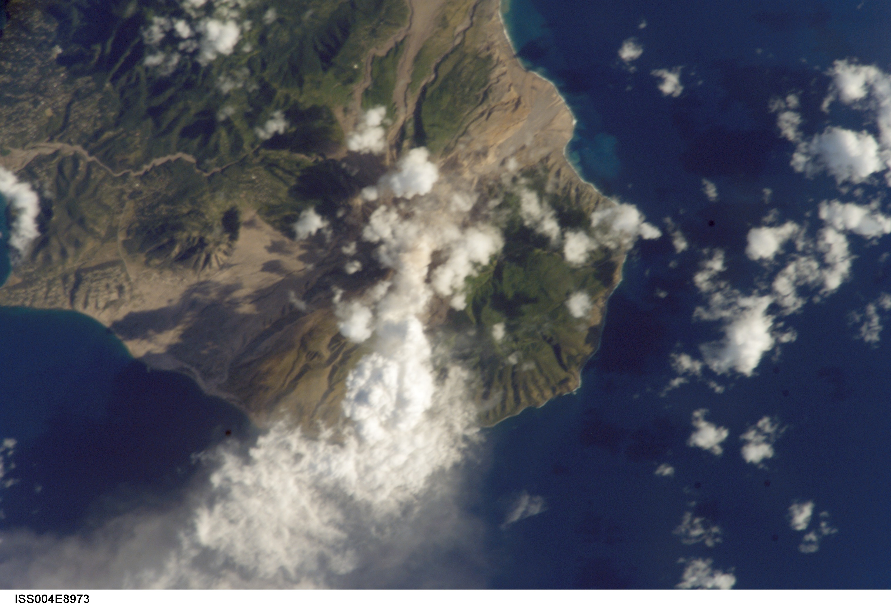 Ash and Steam, Soufriere Hills Volcano, Monserrat - related image preview