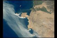 Coastal Fog, South Peruvian Coast at Pisco