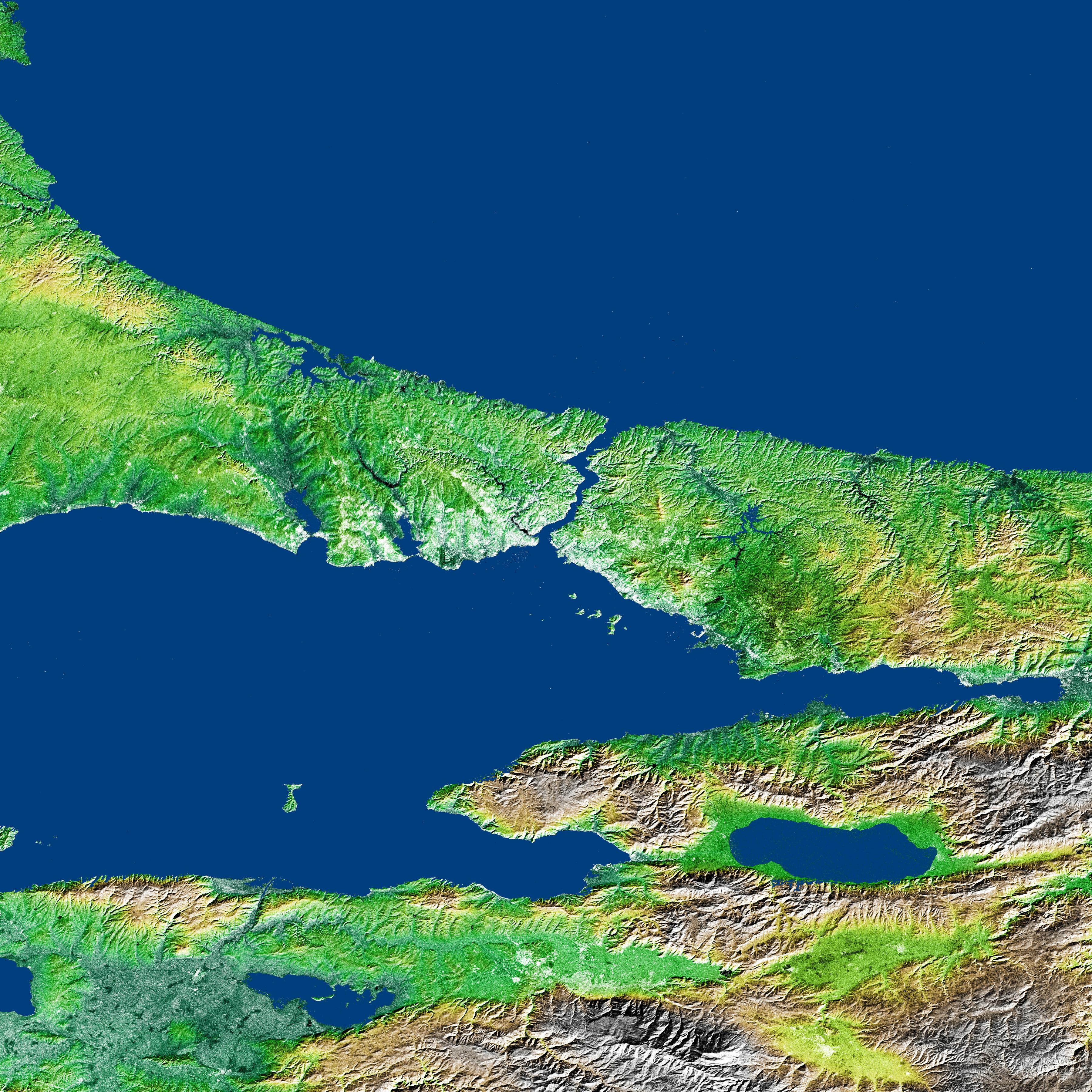 Bosporus Strait And Istanbul, Turkey : Image Of The Day
