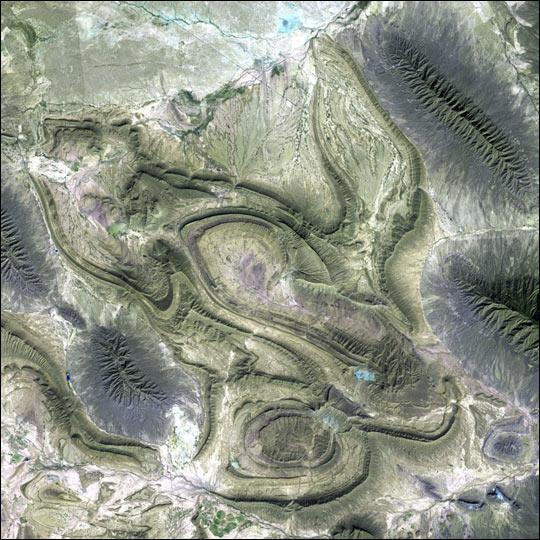 Sierra Madre Oriental in Coahuila, Mexico