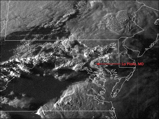 Tornado Strikes Southern Maryland