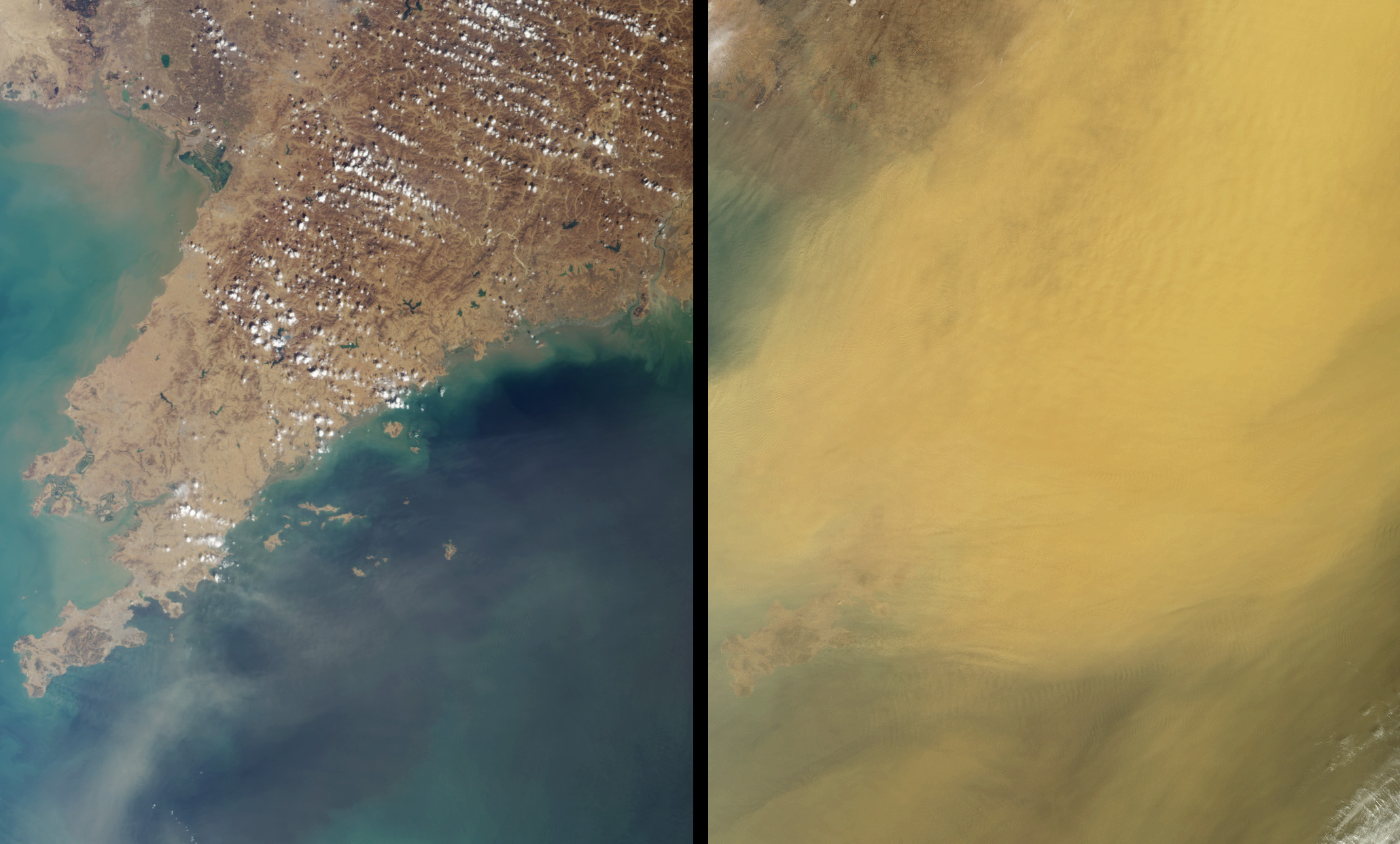 Dust Obscures Liaoning Province, China - related image preview
