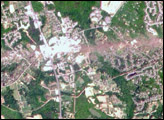 New NASA Satellite Zooms in on Tornado Swath