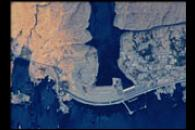 Aswan High Dam in 6-meter Resolution from the International Space Station
