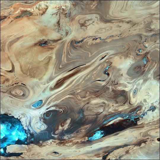 Dasht-e Kevir (Great Salt Desert, Iran)