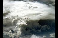 Thunderstorms over Brazil
