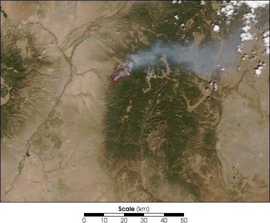 Borrego Fire, New Mexico