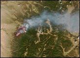 Borrego Fire, New Mexico