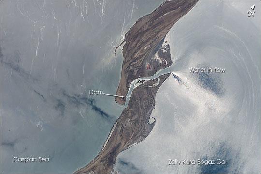 Zaliv Kara-Bogaz-Gol, Caspian Sea
