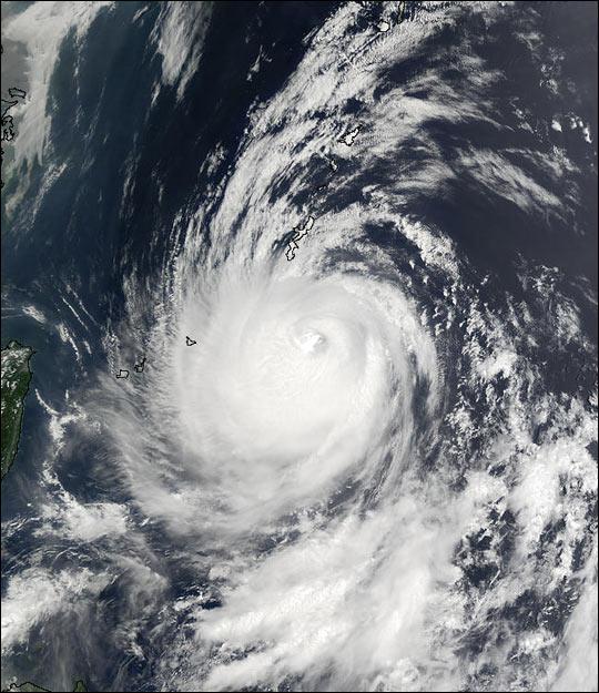 Super Typhoon Halong off Taiwan