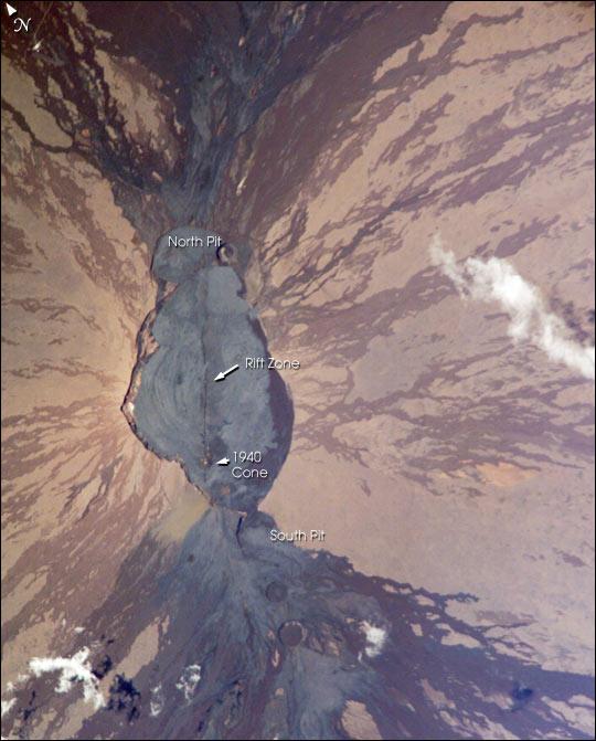 Summit Crater of Mauna Loa