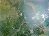 Heavy Smoke over China