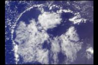 Cloud Arcs in the Western Pacific