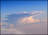 Anvil Tops of Thunderstorms