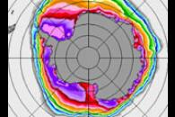 Increasing Sea Ice around Antarctica