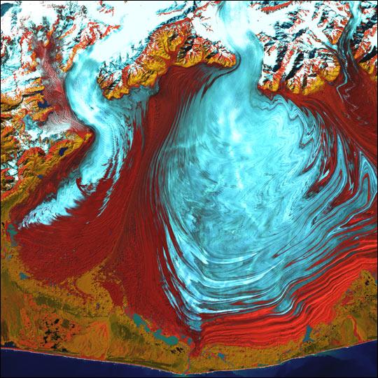 Malaspina Glacier, Alaska
