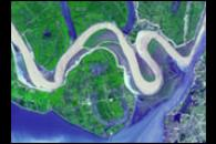 Dongting Lake Flooding in China