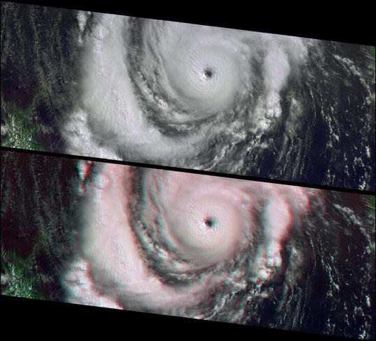 Hurricane Lili Heads for Louisiana Landfall