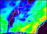 Hurricane Isidore Soaks Mississippi Valley