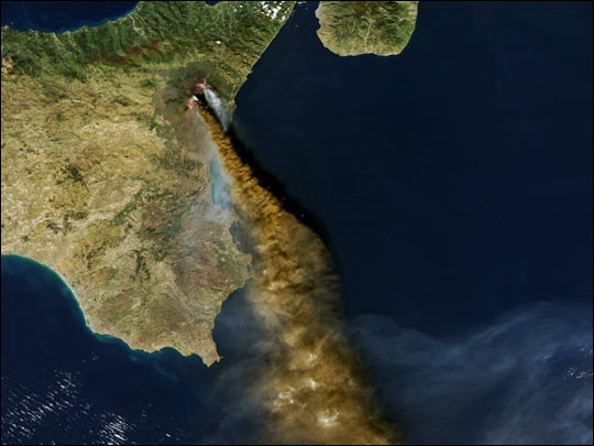 Eruption of Sicily'??s Mt. Etna