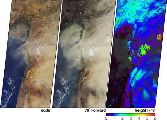 Dust Shrouds the Eastern Mediterranean - related image preview