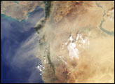 Dust Shrouds the Eastern Mediterranean - selected image
