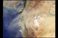 Dust Shrouds the Eastern Mediterranean